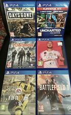 Sony Playstation 4 ps4 Spielepaket Days Gone Uncharted Collection FIFA Ausstellung