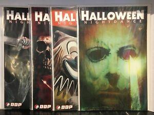 Halloween Nightdance #1-4 Cover B Set VF/NM 1st Print DDP Comics