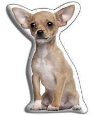 """Chihuahua (Smooth coat) Gift – Beautiful Large 'Cuddle Cushion' approx 18"""" x 16"""""""