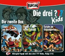 3 CDs * DIE DREI ??? (FRAGEZEICHEN) KIDS - BOX 2 - FOLGEN 4 - 6 # NEU OVP =