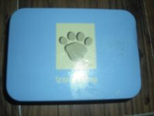 TRAVEL DOG TIN ESSENTIALS ON THE GO FOLDING WATER BOWL LEAD GLO TAG POOP BAGS