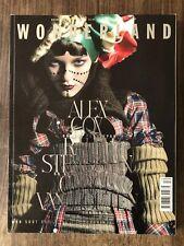 Wonderland magazine - december / january 2008/2009 - Alex Cox, Carice van Houten