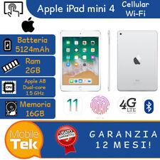 Apple iPad mini 4 16GB + 4G A1550 Ricondizionato