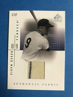 2001 Upper Deck SP Game Used Jersey Card Roger Maris New York Yankees