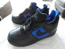 """RARE"" BNIB Nike Air Force 1 CMFT Huarache Black-Lyon Blue UK 7, 705063001"