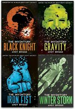 The Inventory Series Collection Andy Briggs 4 Books Set The Iron Fist, Gravity,