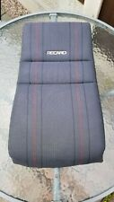 VW GOLF MK2 Recaro Seat  Back Upholstery with foam