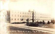 Fargo North Dakota Veterans Hospital Real Photo Antique Postcard J49481