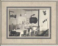 Adirondack vintage photo Mother's Restaurant, Ausable Forks, New York 1950s