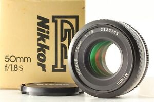 【 MINT in Box】 Nikon Ai-s Nikkor 50mm f/1.8 Ais Pancake MF Lens From JAPAN #646