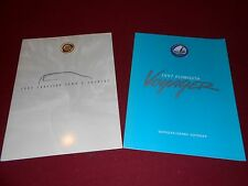1997 PLYMOUTH VOYAGER BROCHURE & CHRYSLER TOWN & COUNTRY CATALOG, 2 BIG F0LDOUTS