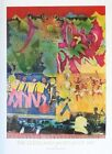 """Bearden, Romare """"Wrapping it Up at the Lafayette"""" 34x24 Music Collage Poster"""