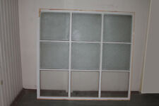 altes Fenster mit Rahmen Holz Fenster Raumtrenner Trennwand Glas vintage