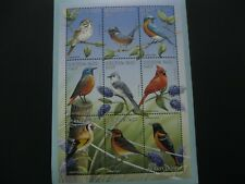 Burkina Faso 1998 birds sheetlet  SCOTT No.1105  I201807