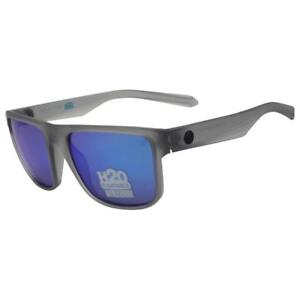 Dragon Polarized Inflector H2O Sunglasses - Crystal Slate w Blue Ion 33246-035 .