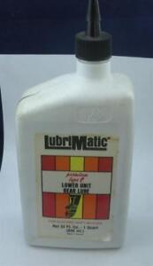 Lubrimatic 11154 Lower Unit Type C Lube Quart 18607