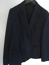 Paul Smith PS Jacket in NAVY BLUE Double Breasted Peak Lapel Jacket UK40