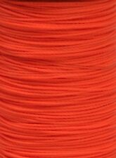 Flo Fluorescent ORANGE BCY Nock & Peep Bow String Serving Bowstring Nylon, 10 yd