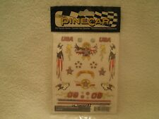 Pine Car Pinewood Derby DRY TRANSFER DECALS FREEDOM FOREVER P4019