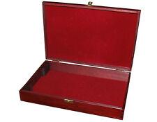 Monete IN LEGNO VASSOIO raccolta sul petto per 3-6 VASSOI Cabinet storage MEDAGLIA sul petto
