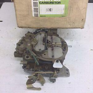 NOS CARTER QUADRAJET CARBURETOR 9087S 1975-1976 CHEVY GMC TRUCK 350-400 ENGINE