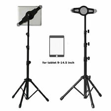 iPad Pro 11 12.9 Samsung Universal Tripod Floor Stand Tab 360 Adjustable Holder