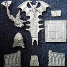 1995 Undead Dread King Throne Catacombs of Terror Citadel Warhammer Quest Liche