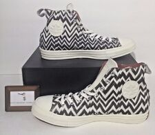 CONVERSE MEN SIZE 11 CHUCK TAYLOR ALL STAR X MISSONI HI DESIGNER BROWN WHITE