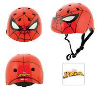 Spiderman Marvel Kids Ramp Helmet Boys Bicycle Skate Adjustable Safety Headwear