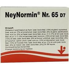 NEYNORMIN Nr.65 D 7 Ampullen 5X2 ml PZN 6487227