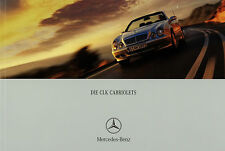 Mercedes CLK Cabriolet Prospekt 5/00 2000 Cabrio Autoprospekt A430 320 230 K Pkw