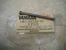 NOS OEM Yamaha Tail Lamp Screw 1976-1984 RD400 XS650 Heritage XS750 1A0-84724-60