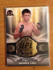 2014 Topps UFC Champions Commemorative Belt Plate relic card Dominick Cruz