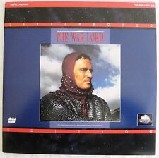 LASERDISC The War Lord - Cover Good, Discs Good to VG