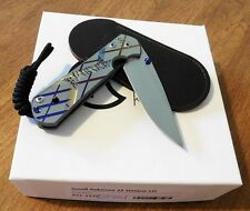 CHRIS REEVE New Left Hand Small Sebenza 21 Unique Plain S35VN Blade Knife/Knives