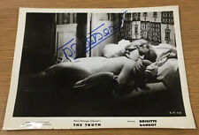Brigitte Bardot JSA Signed Original Movie Press Photo The Truth 1960 La Verite