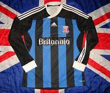 Stoke City Away Shirt Jersey 2011 2012 Adidas Long Sleeve Size M