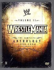 WWE - Wrestlemania Anthology: Vol. 2 (DVD, 2005, 5-Disc Set)
