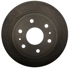Disc Brake Rotor-Non-Coated Rear ACDelco Advantage 18A81032A