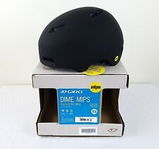 AUTHENTIC Giro Dime Mips Helmet Matte Black Kids Youth XS Small Bike Cycling New