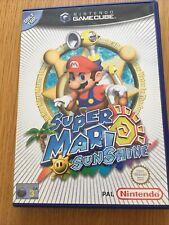 Super Mario Sunshine Nintendo Gamecube Excellent CIB