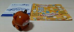 2002 TOMY MICROPETS COCO THE CAT WITH PAPERS ~ INTERACTIVE PET MICRO PET
