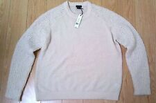 Super Sale $235 NEW Theory Delanna Boucle Wool Blend Sweater in Sz L
