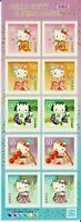 JAPAN 2011 HELLO KITTY SUMMER GREETINGS KIMONO  MNH**  GIAPPONE ANIME MANGA $$$