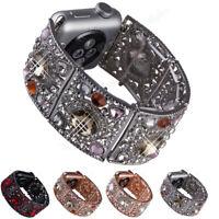 Rhinestone Wrist Watch Band Strap Bracelet for Apple Watch Iwatch 38 42 40 44mm