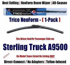Qty1 Super Premium NeoForm Wiper Blade fits 1999-2010 Sterling Truck A9500 16200