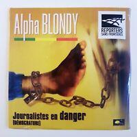 ALPHA BLONDY : JOURNALISTES EN DANGER ♦ CD Single NEUF ! ♦