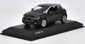 Kyosho 1/43 Alloy car model, Black AUDI A1 Die casting model
