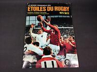 Ancien album vignettes Étoiles Du Rugby COMPLET 1971 1972 ancêtre de Panini