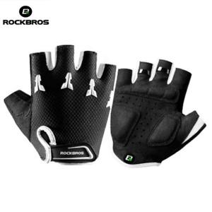 ROCKBROS Bicycle Children Half Finger Gloves Kids Anti-stock Bike Gloves Mitten